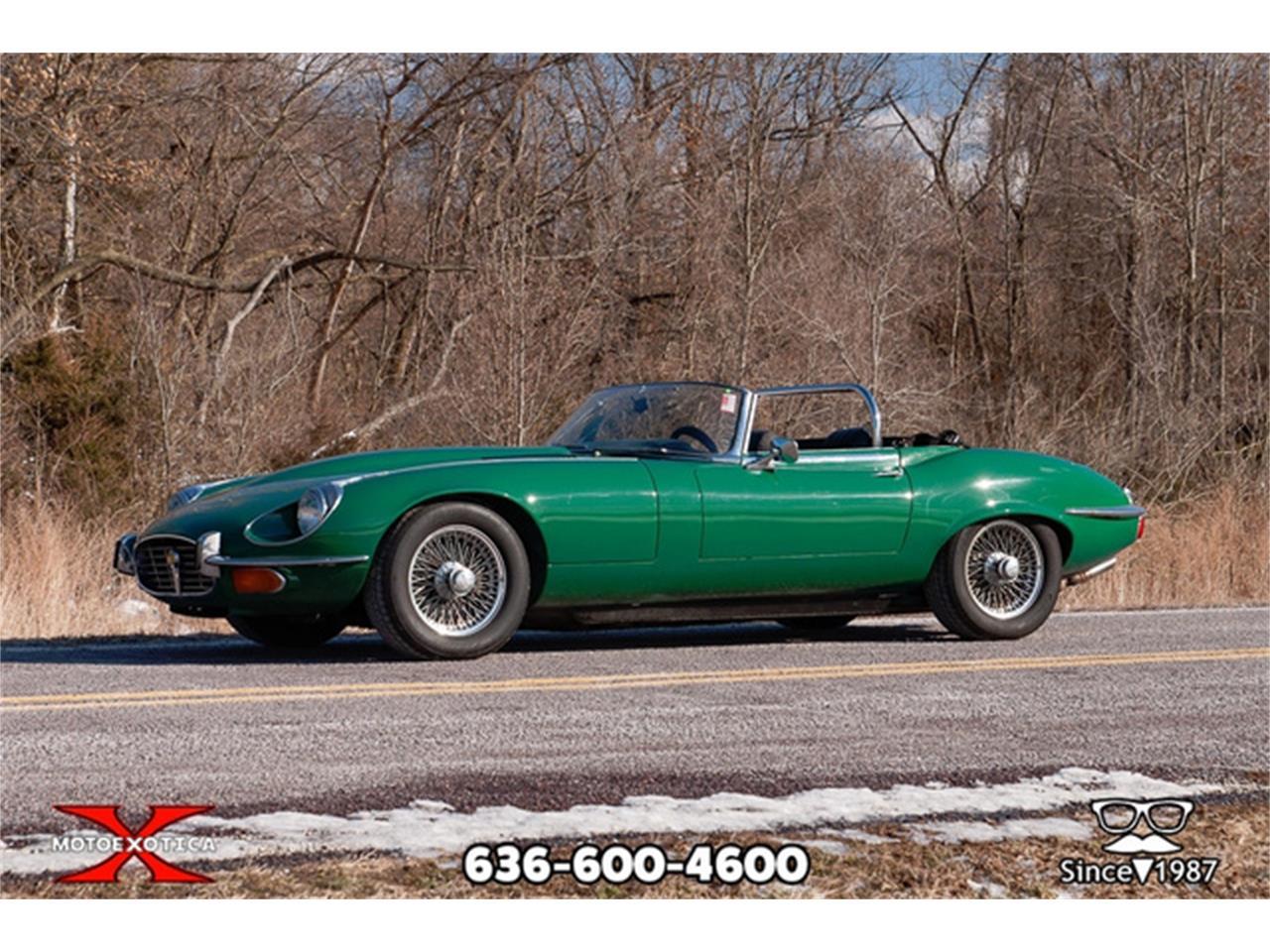 Large Picture of Classic 1971 Jaguar E-Type located in St. Louis Missouri - $36,900.00 - QXK8