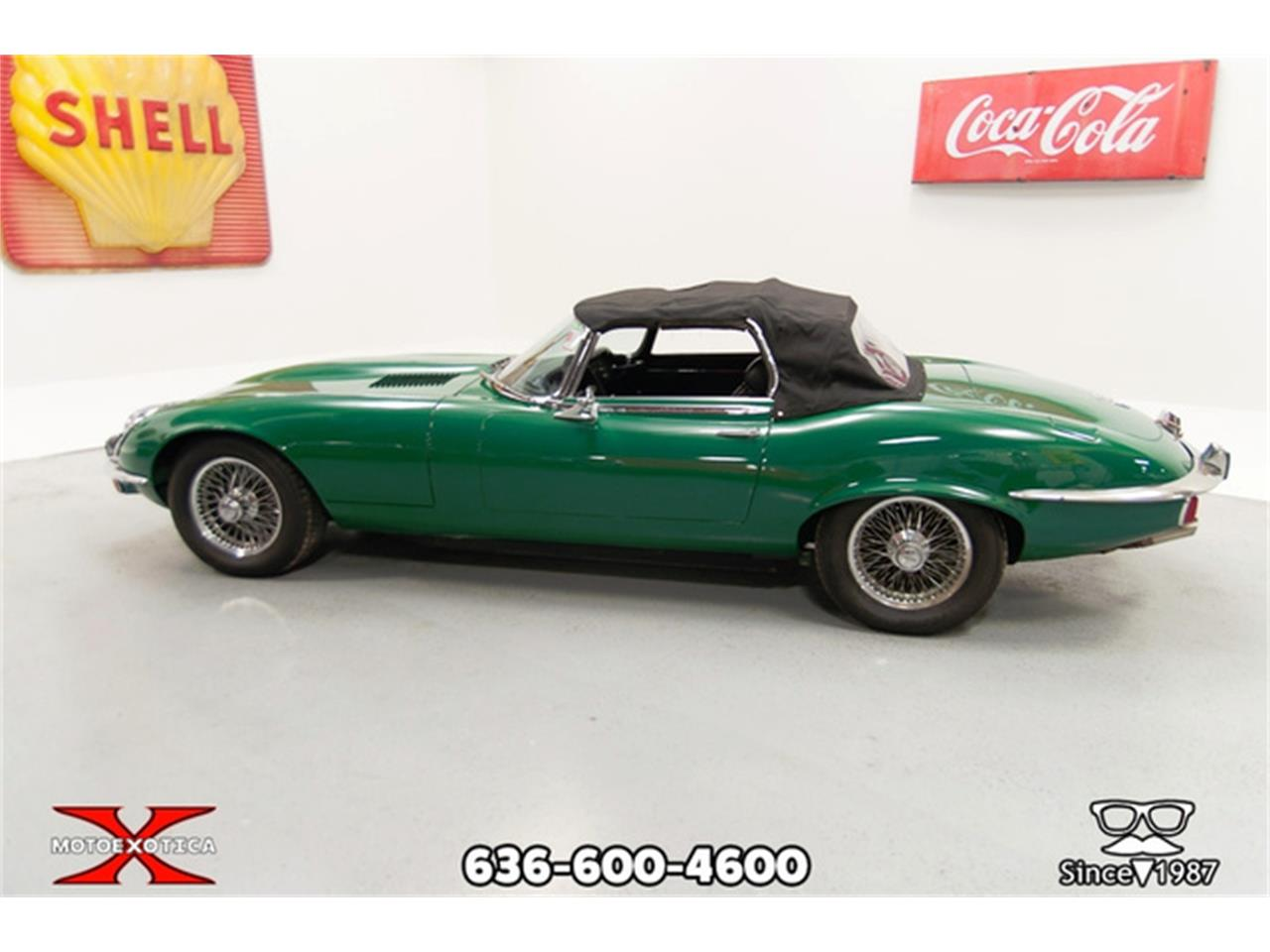 Large Picture of Classic '71 E-Type located in St. Louis Missouri Offered by MotoeXotica Classic Cars - QXK8