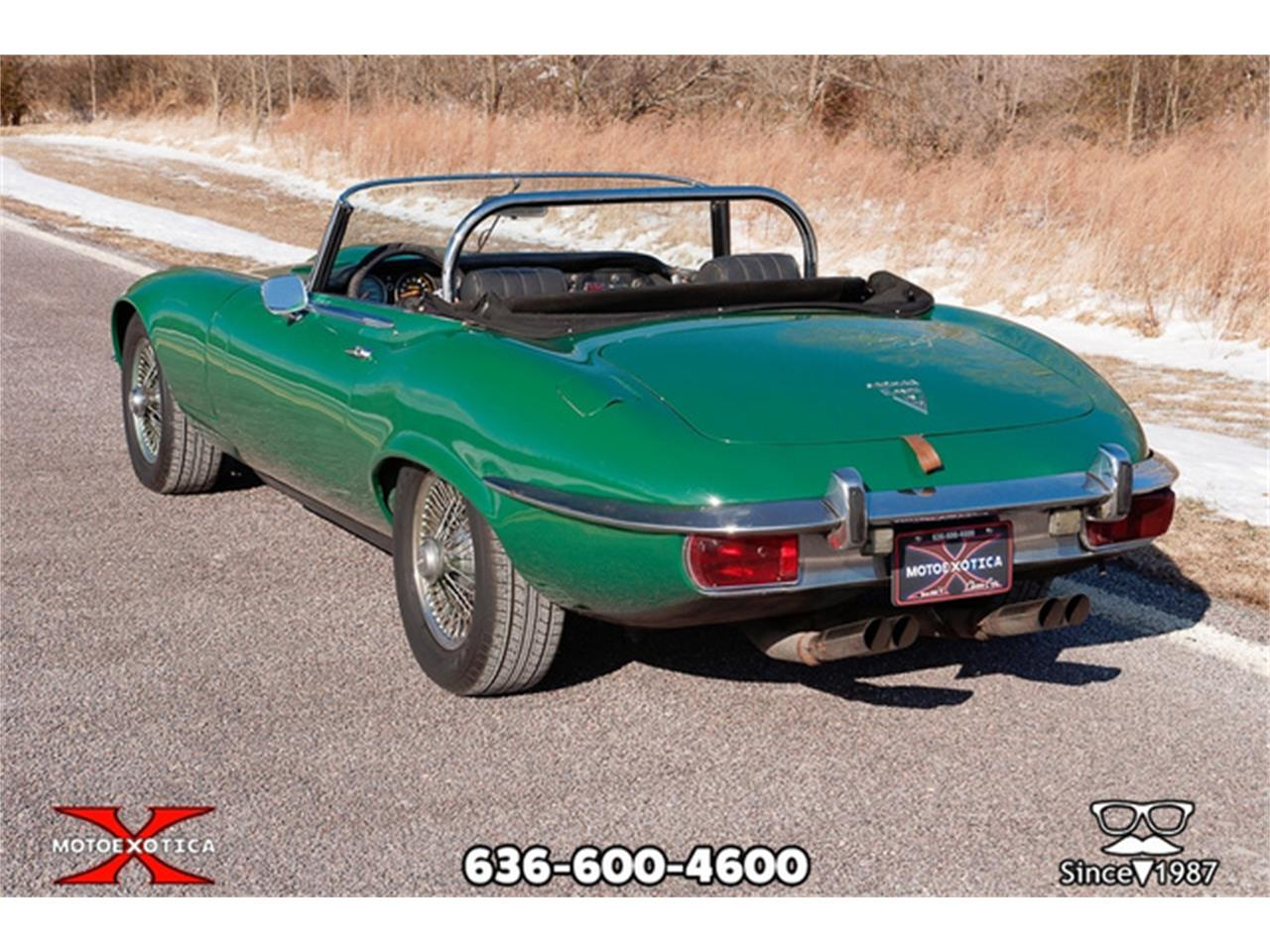 Large Picture of Classic '71 Jaguar E-Type - $36,900.00 Offered by MotoeXotica Classic Cars - QXK8