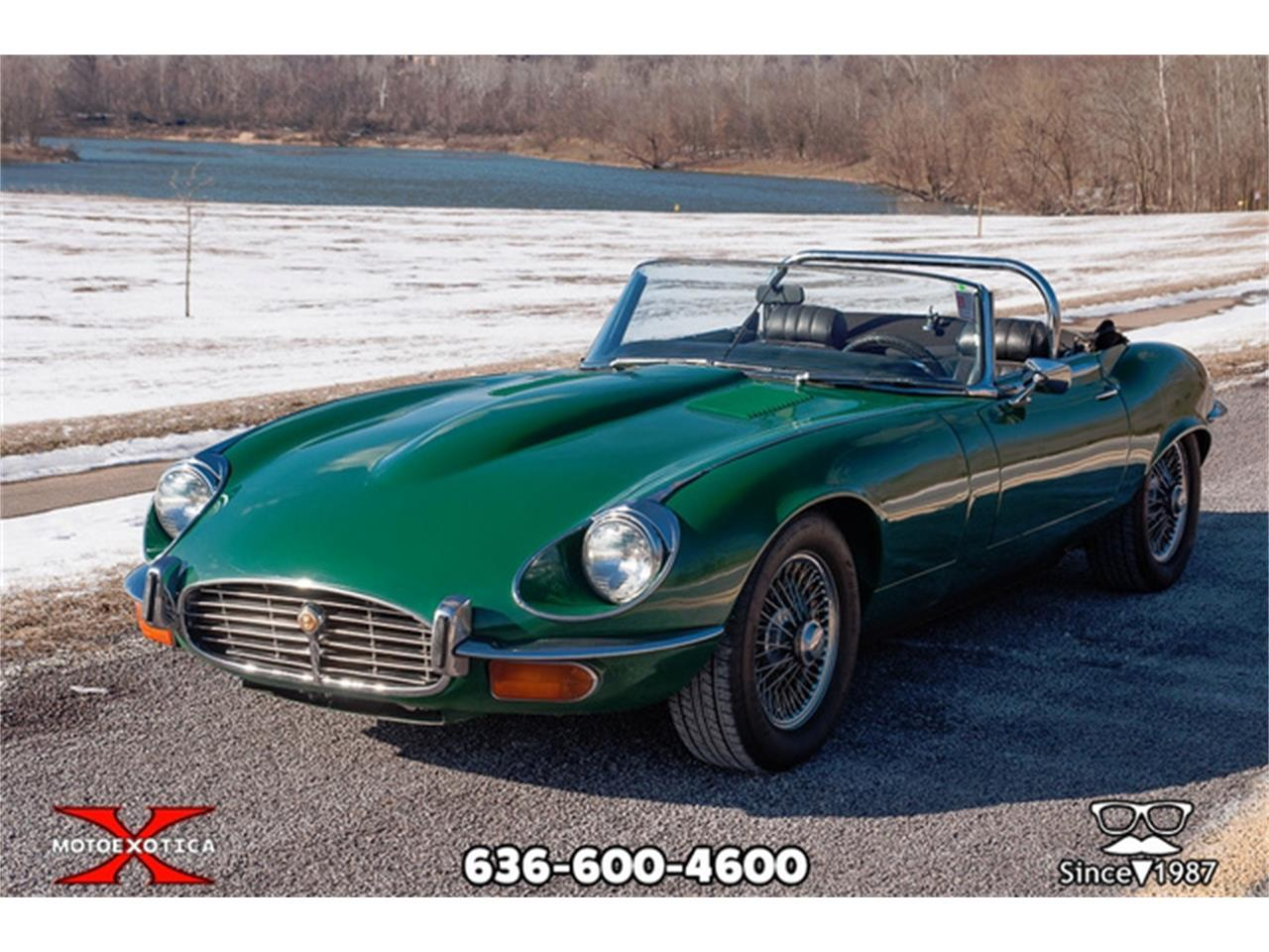 Large Picture of '71 Jaguar E-Type - $36,900.00 Offered by MotoeXotica Classic Cars - QXK8
