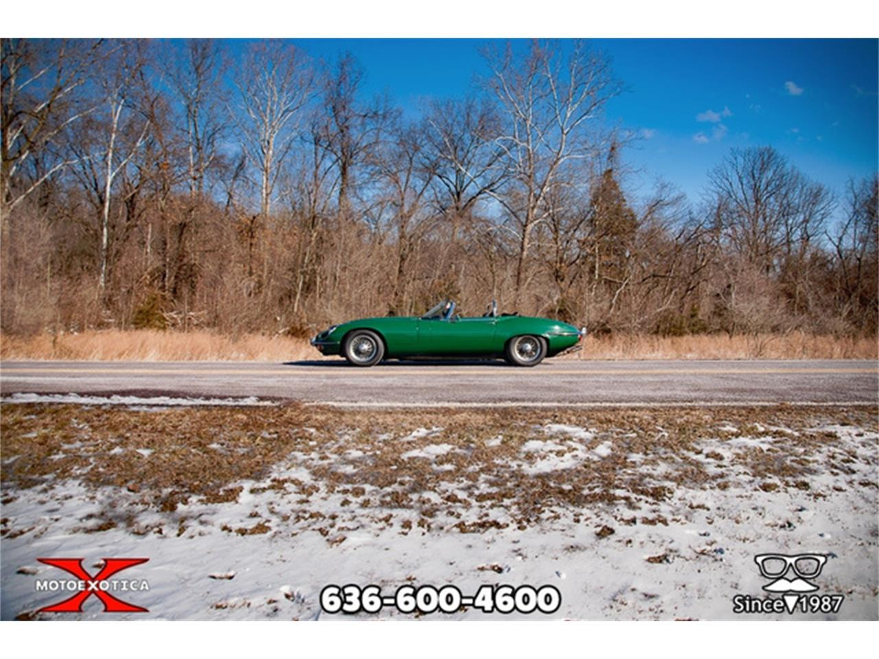 Large Picture of Classic '71 Jaguar E-Type Offered by MotoeXotica Classic Cars - QXK8
