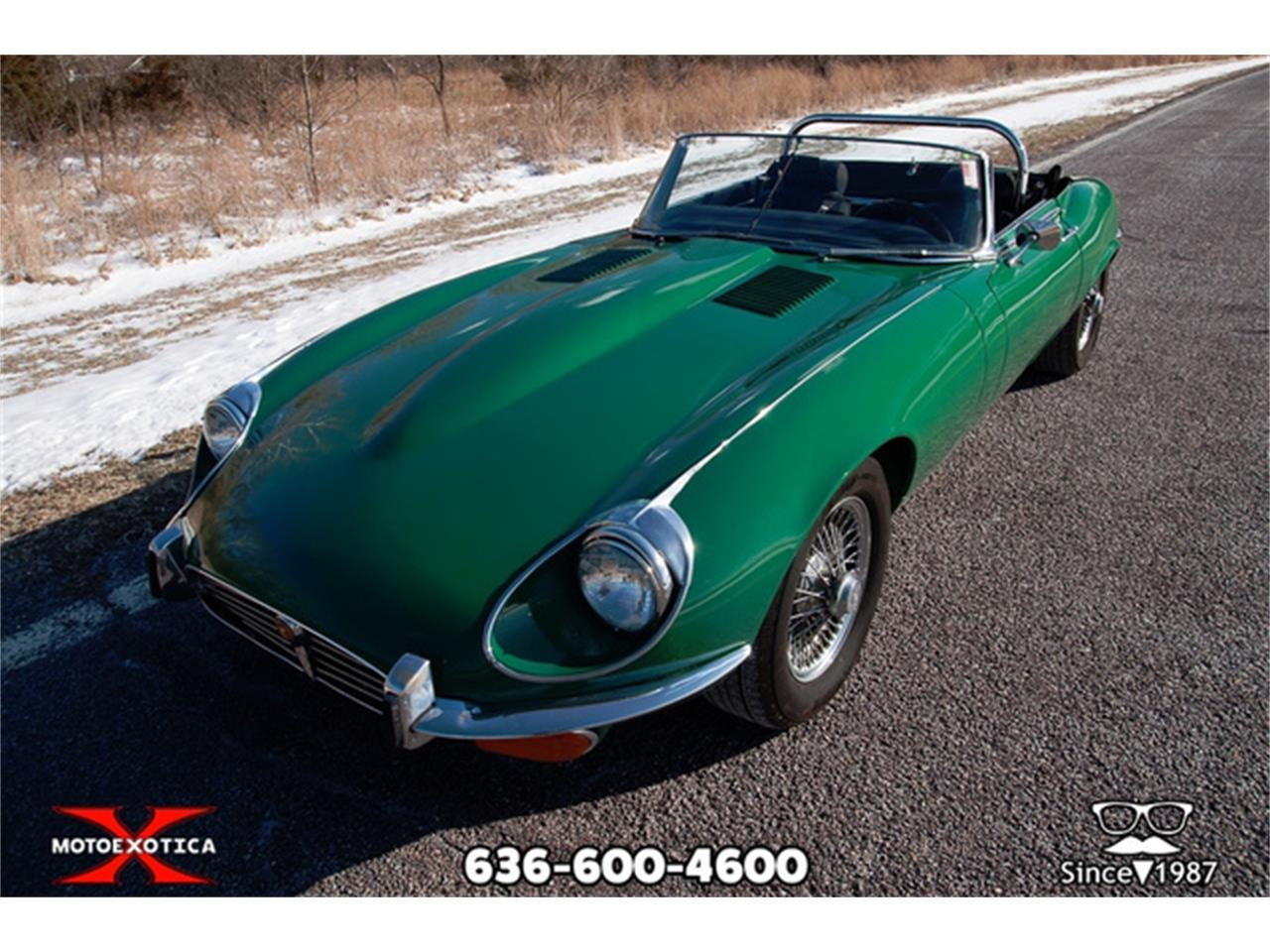 Large Picture of Classic 1971 Jaguar E-Type located in St. Louis Missouri Offered by MotoeXotica Classic Cars - QXK8