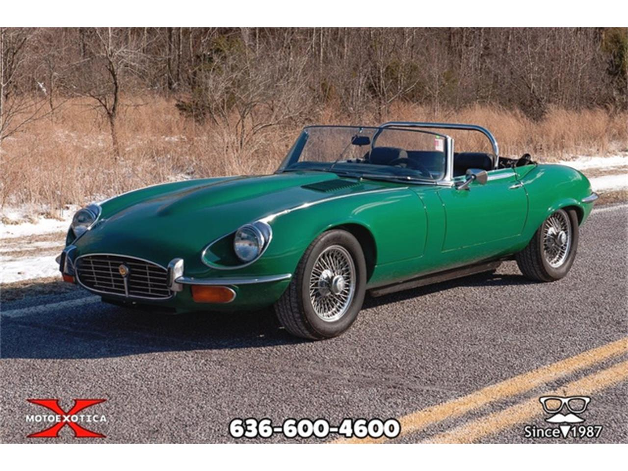 Large Picture of Classic 1971 Jaguar E-Type - $36,900.00 Offered by MotoeXotica Classic Cars - QXK8