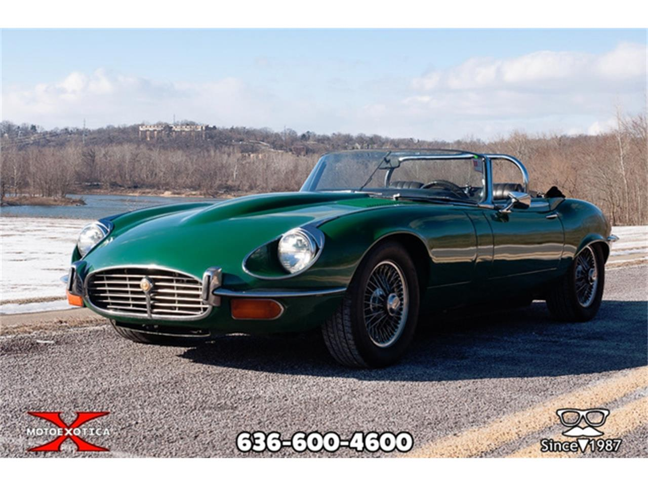 Large Picture of '71 E-Type located in St. Louis Missouri - $36,900.00 Offered by MotoeXotica Classic Cars - QXK8
