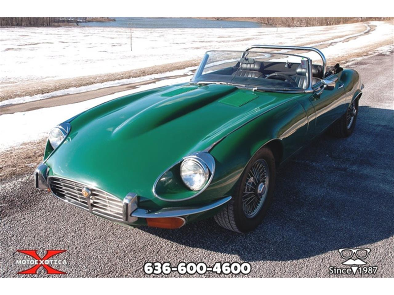 Large Picture of Classic 1971 Jaguar E-Type Offered by MotoeXotica Classic Cars - QXK8