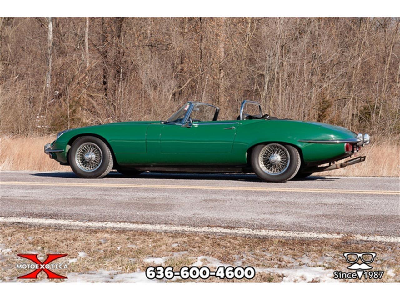 Large Picture of '71 Jaguar E-Type located in St. Louis Missouri - QXK8