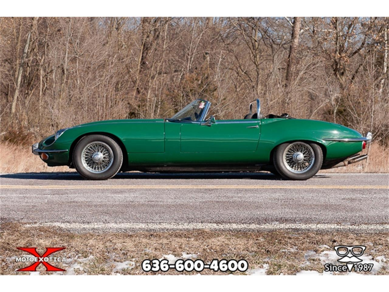 Large Picture of 1971 Jaguar E-Type Offered by MotoeXotica Classic Cars - QXK8