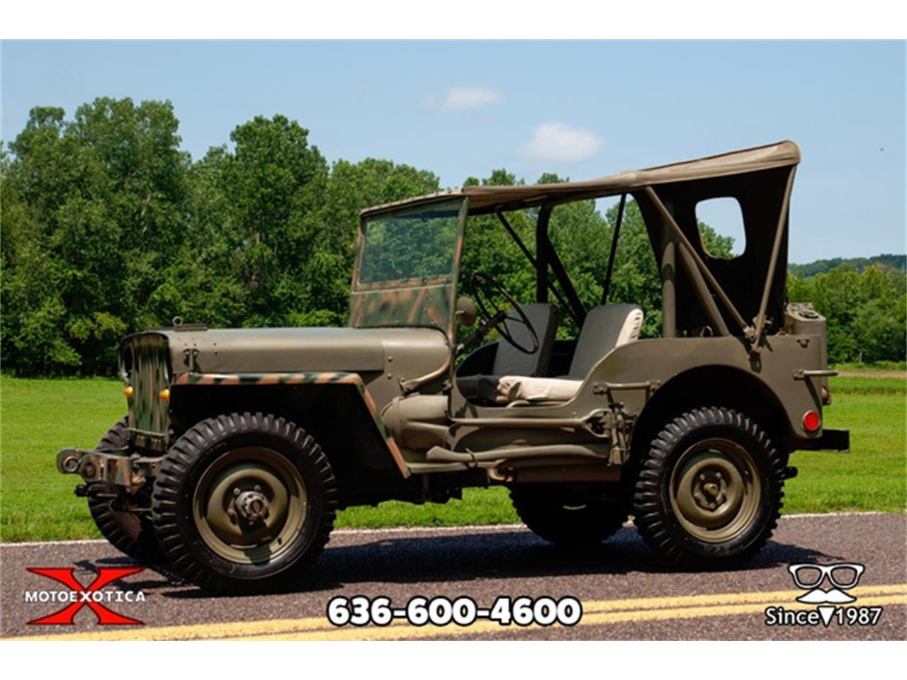 For Sale: 1948 Willys Jeep in St  Louis, Missouri