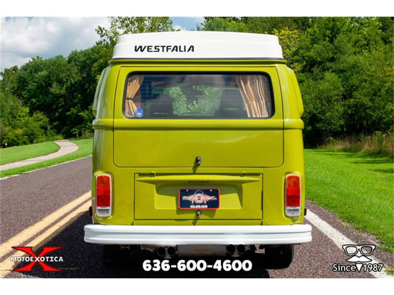 Large Picture of '78 Westfalia Camper - QXKW