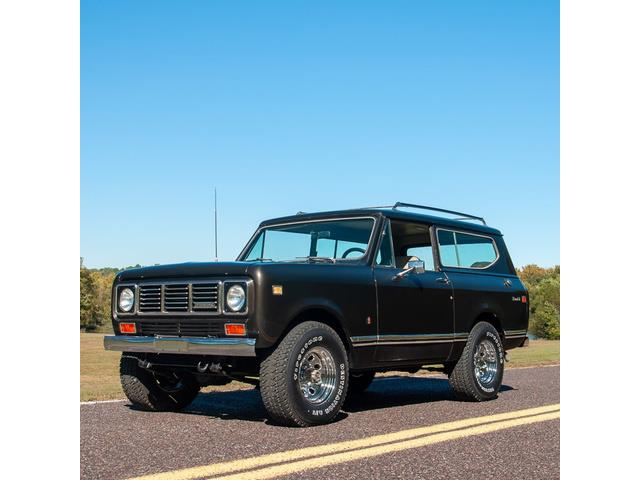 Classic International Scout for Sale on ClassicCars com on