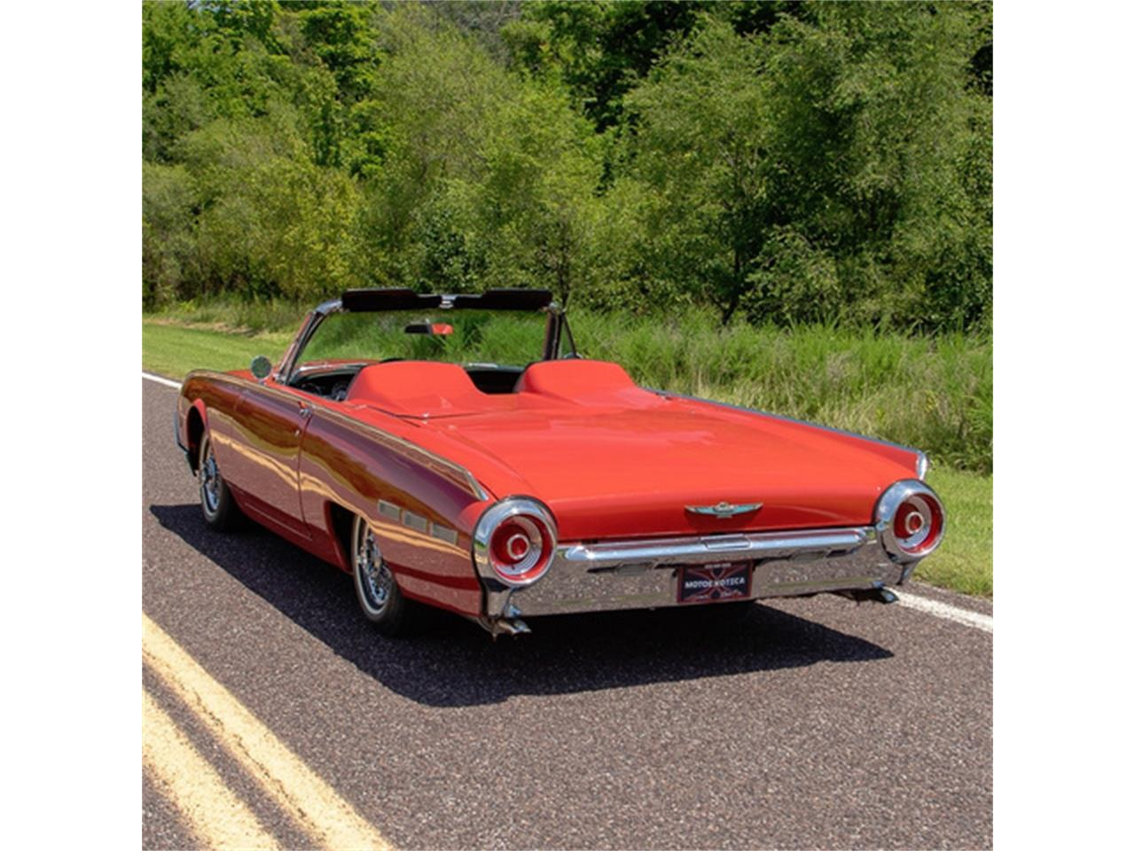 Large Picture of Classic '62 Thunderbird - $27,500.00 Offered by MotoeXotica Classic Cars - QXLJ