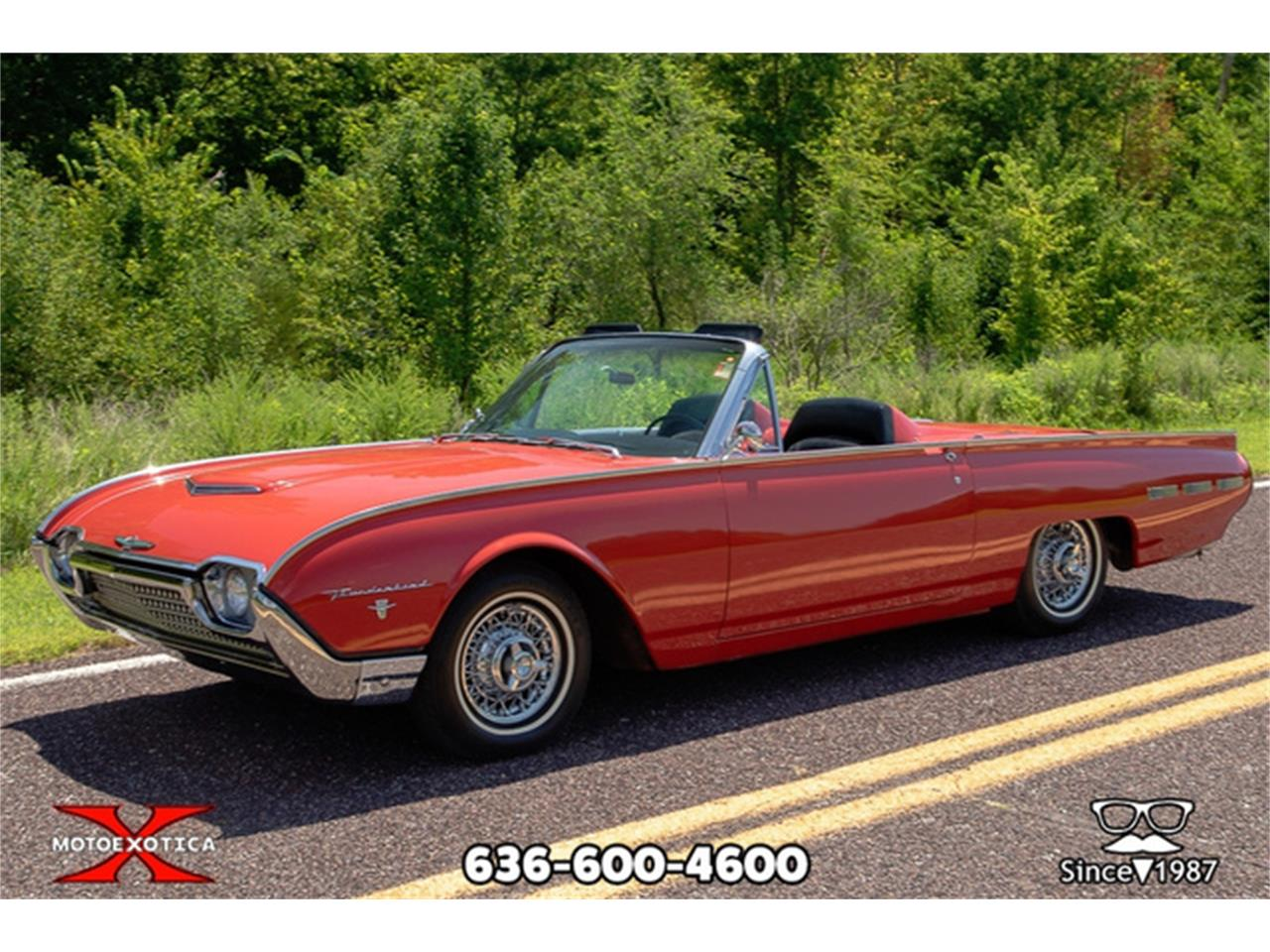 Large Picture of '62 Ford Thunderbird Offered by MotoeXotica Classic Cars - QXLJ