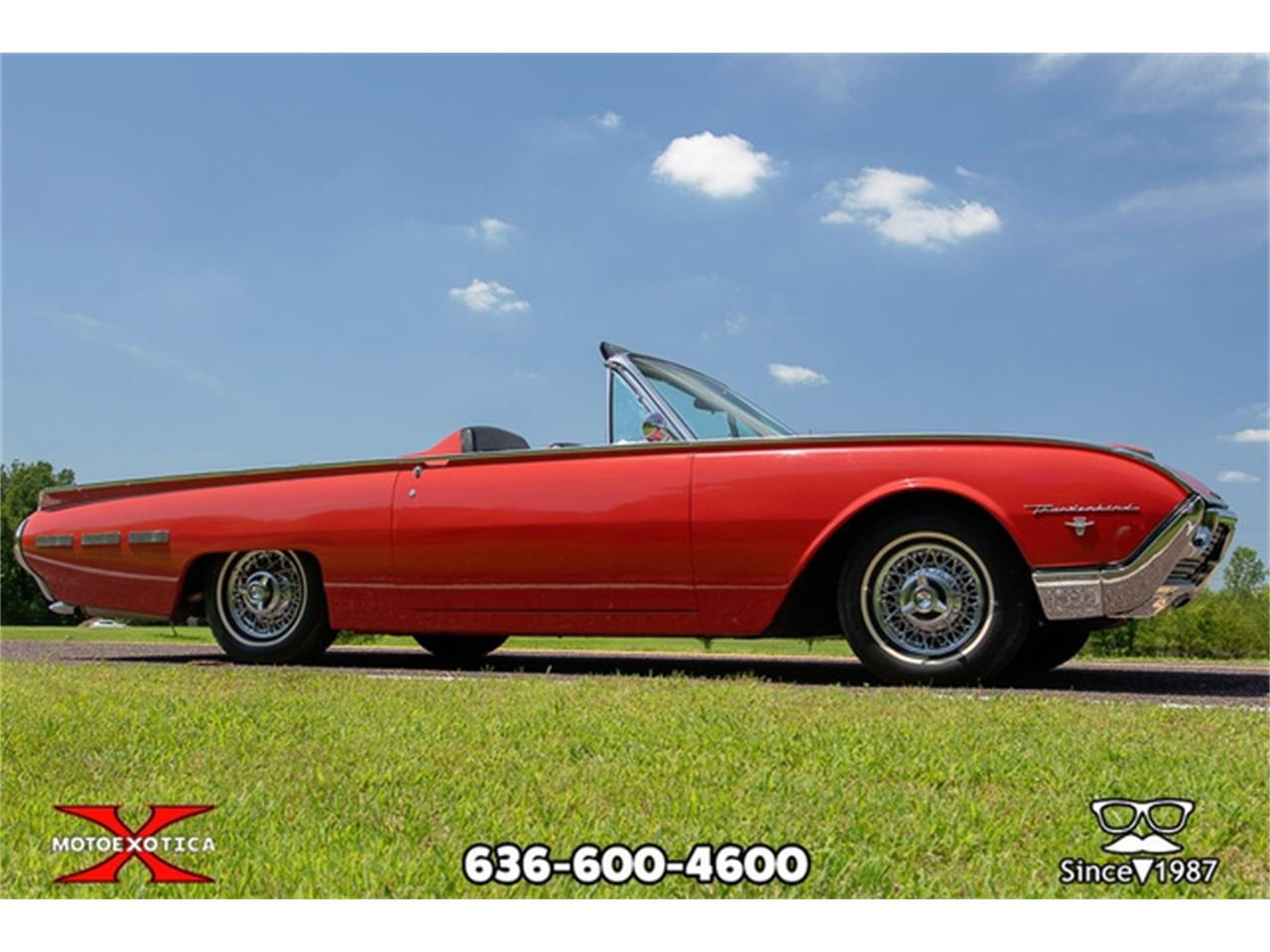 Large Picture of '62 Ford Thunderbird located in St. Louis Missouri Offered by MotoeXotica Classic Cars - QXLJ