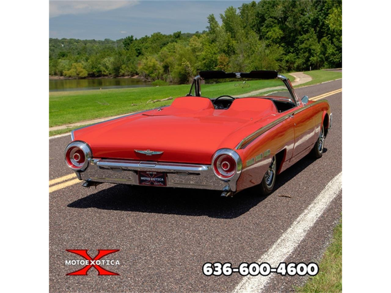 Large Picture of '62 Thunderbird located in St. Louis Missouri - $27,500.00 Offered by MotoeXotica Classic Cars - QXLJ