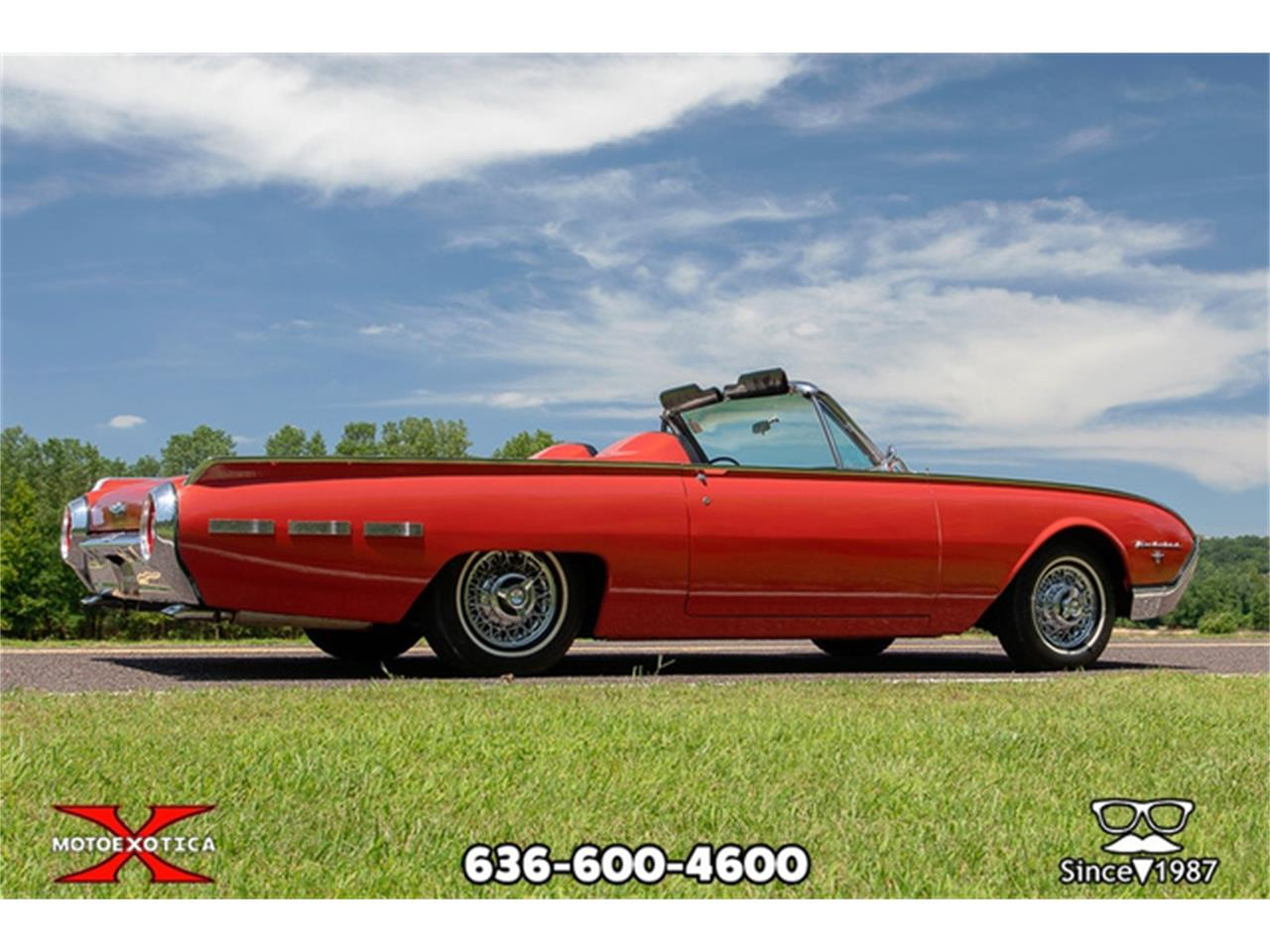 Large Picture of Classic '62 Thunderbird located in St. Louis Missouri - $27,500.00 Offered by MotoeXotica Classic Cars - QXLJ