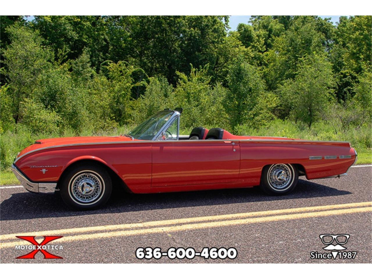 Large Picture of Classic '62 Ford Thunderbird located in Missouri Offered by MotoeXotica Classic Cars - QXLJ