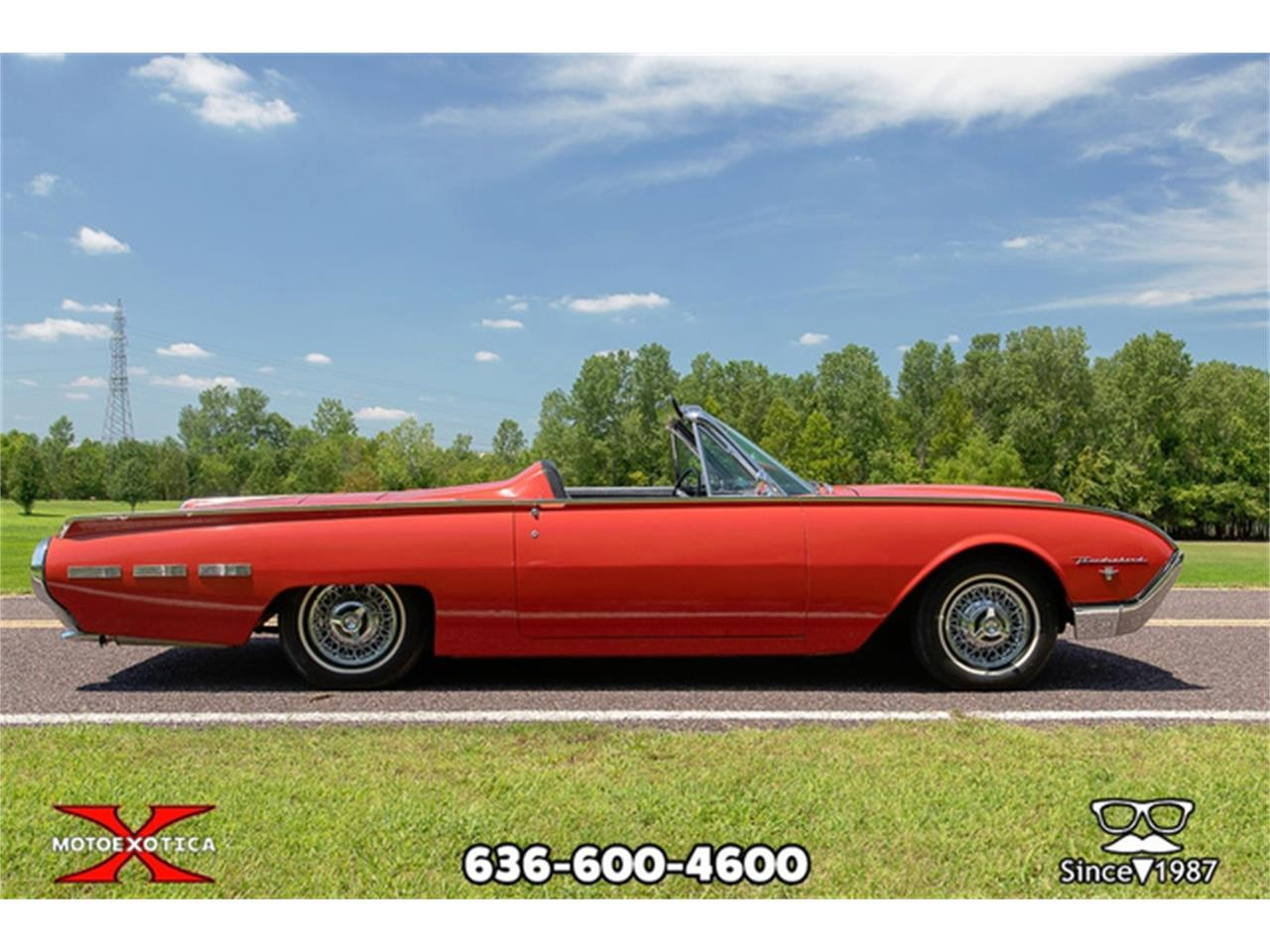 Large Picture of 1962 Ford Thunderbird located in Missouri - $27,500.00 Offered by MotoeXotica Classic Cars - QXLJ