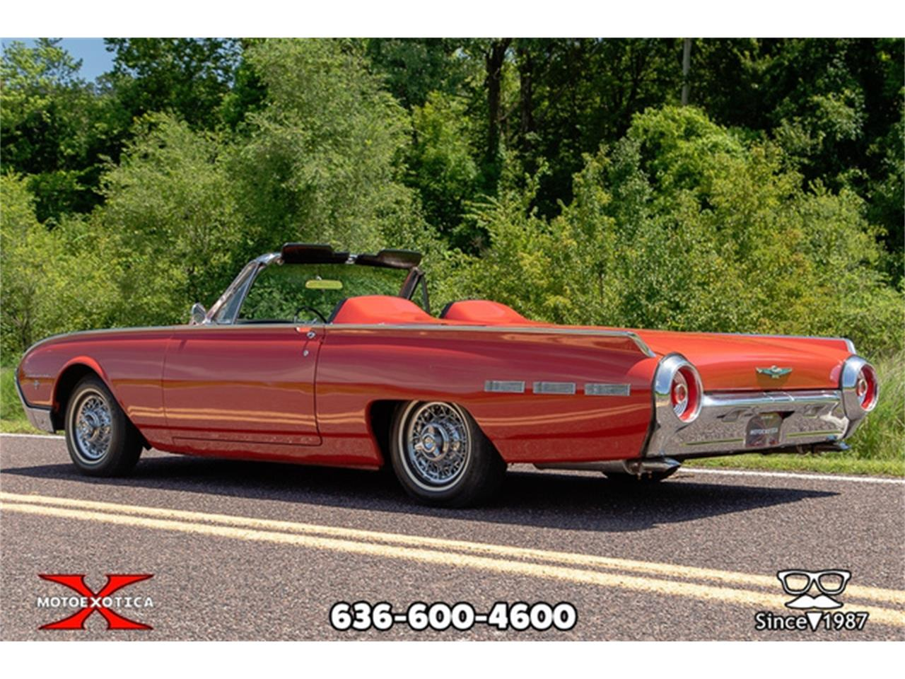 Large Picture of 1962 Ford Thunderbird - $27,500.00 Offered by MotoeXotica Classic Cars - QXLJ
