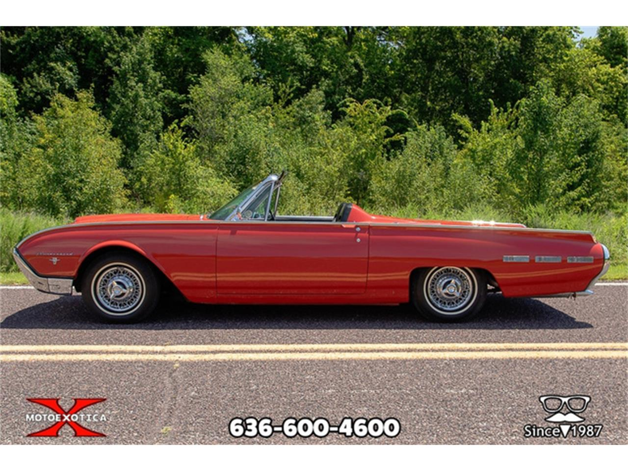 Large Picture of 1962 Ford Thunderbird located in Missouri - QXLJ
