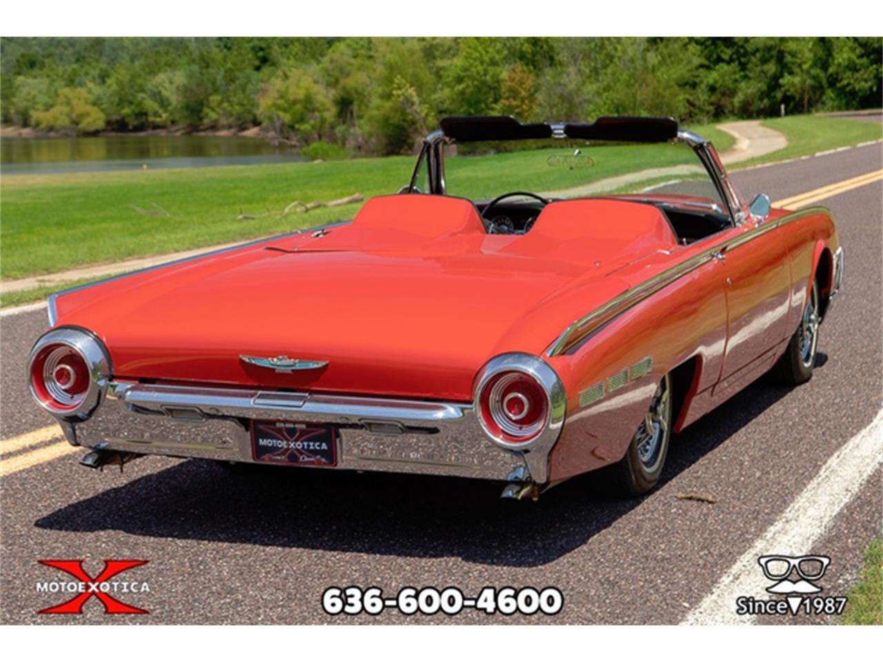 Large Picture of Classic 1962 Ford Thunderbird located in Missouri - $27,500.00 Offered by MotoeXotica Classic Cars - QXLJ