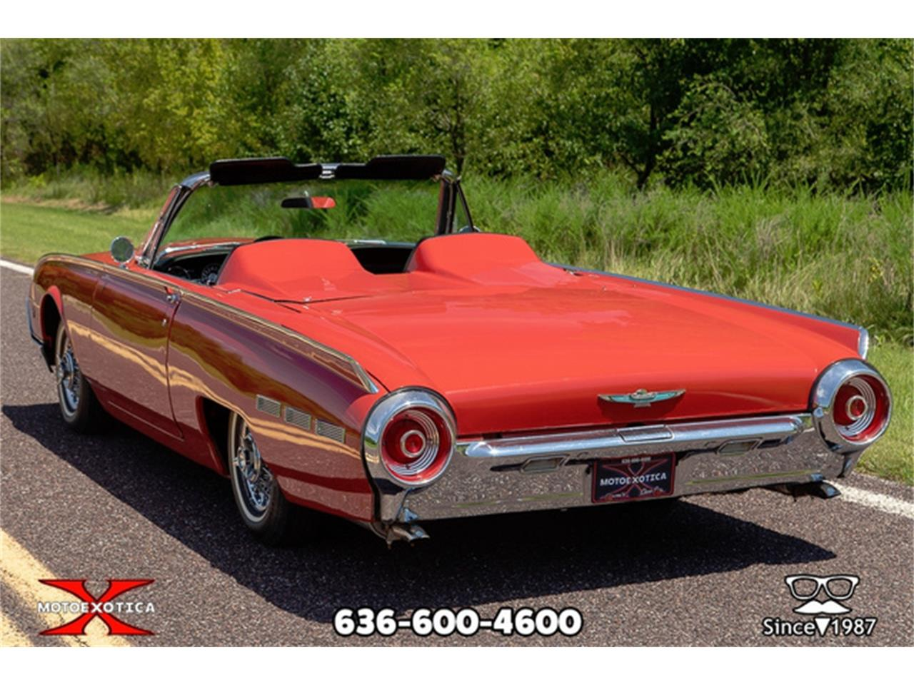 Large Picture of 1962 Ford Thunderbird located in St. Louis Missouri Offered by MotoeXotica Classic Cars - QXLJ