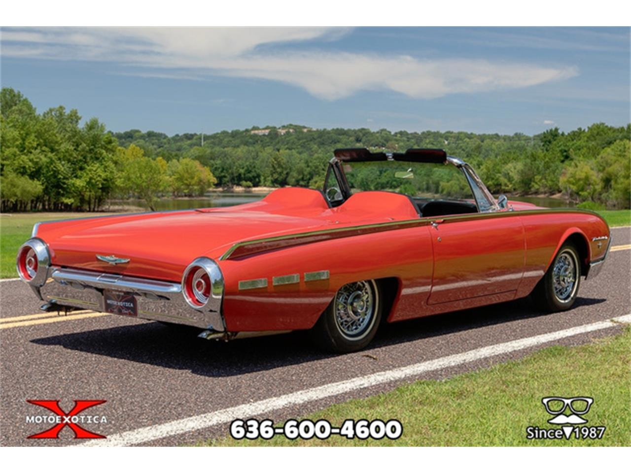 Large Picture of Classic 1962 Thunderbird Offered by MotoeXotica Classic Cars - QXLJ