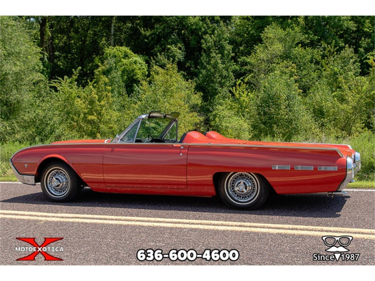 Large Picture of Classic 1962 Ford Thunderbird located in St. Louis Missouri - $27,500.00 Offered by MotoeXotica Classic Cars - QXLJ