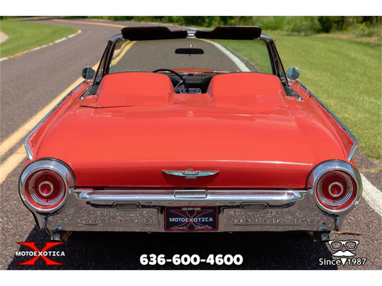 Large Picture of Classic '62 Ford Thunderbird located in St. Louis Missouri - QXLJ