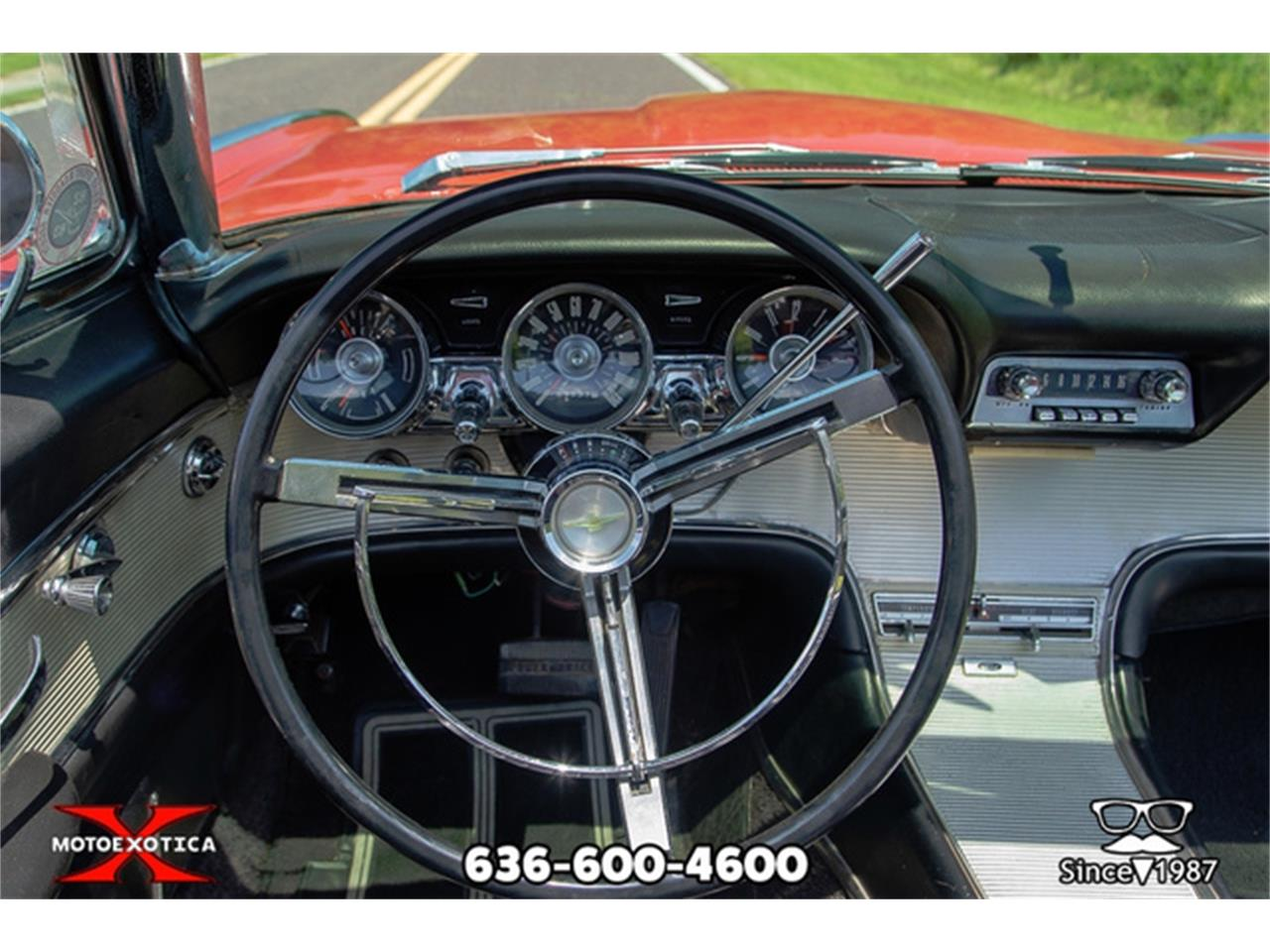 Large Picture of Classic 1962 Thunderbird located in St. Louis Missouri Offered by MotoeXotica Classic Cars - QXLJ