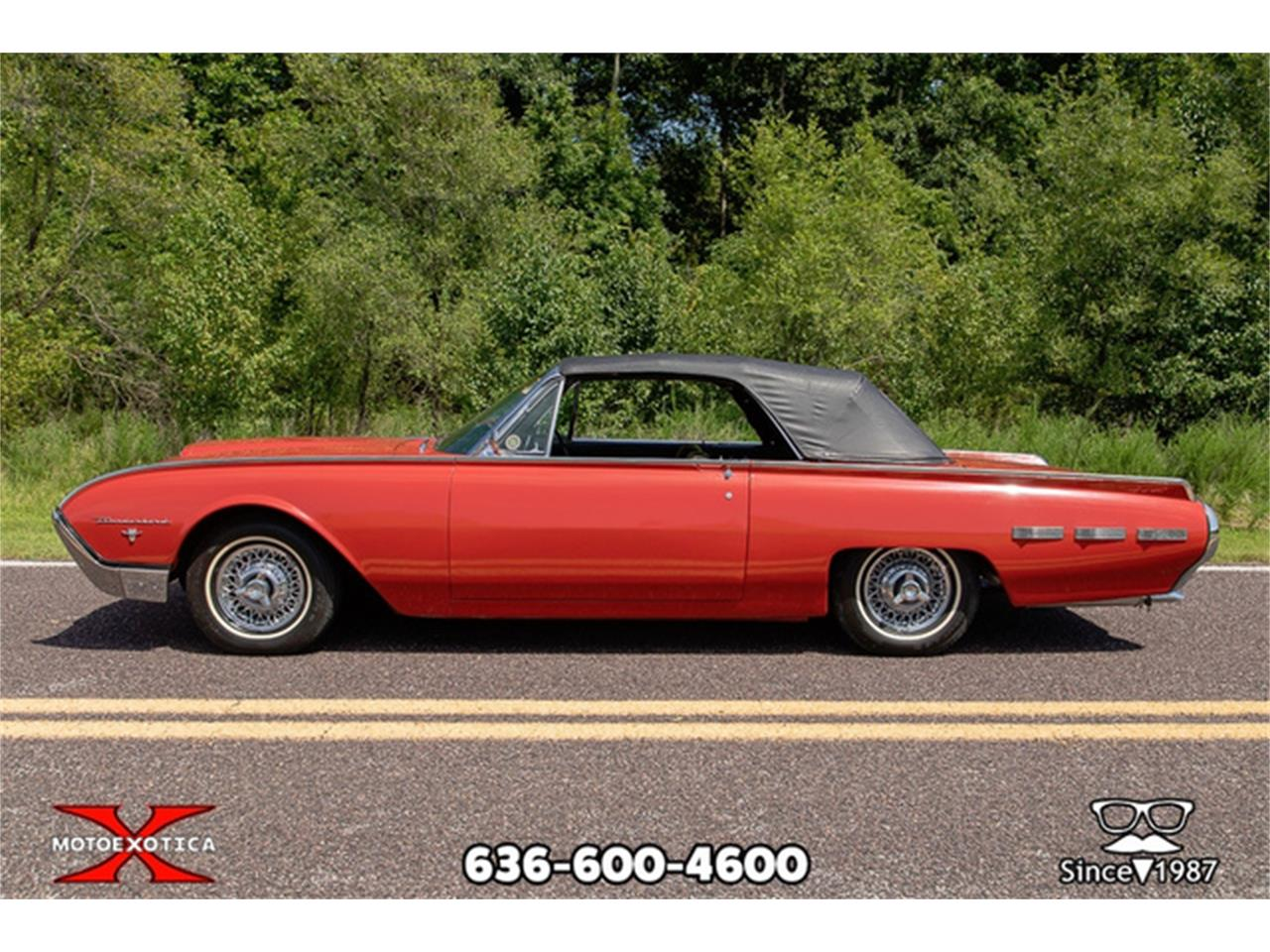 Large Picture of Classic '62 Thunderbird located in St. Louis Missouri Offered by MotoeXotica Classic Cars - QXLJ