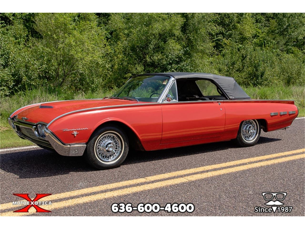 Large Picture of Classic '62 Thunderbird located in St. Louis Missouri - QXLJ