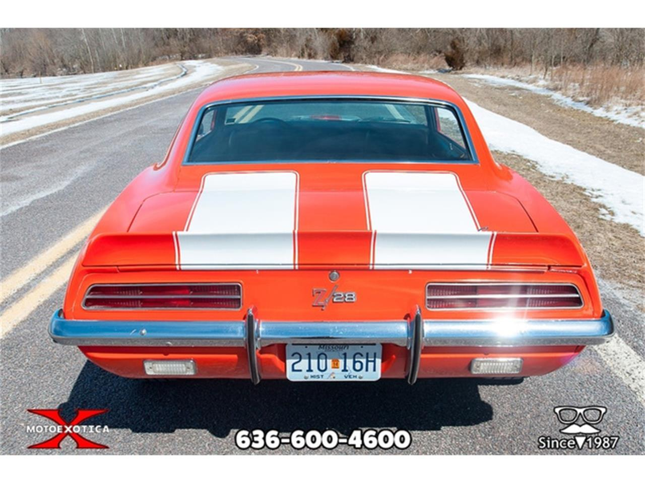 For Sale: 1969 Chevrolet Camaro Z28 in St  Louis, Missouri