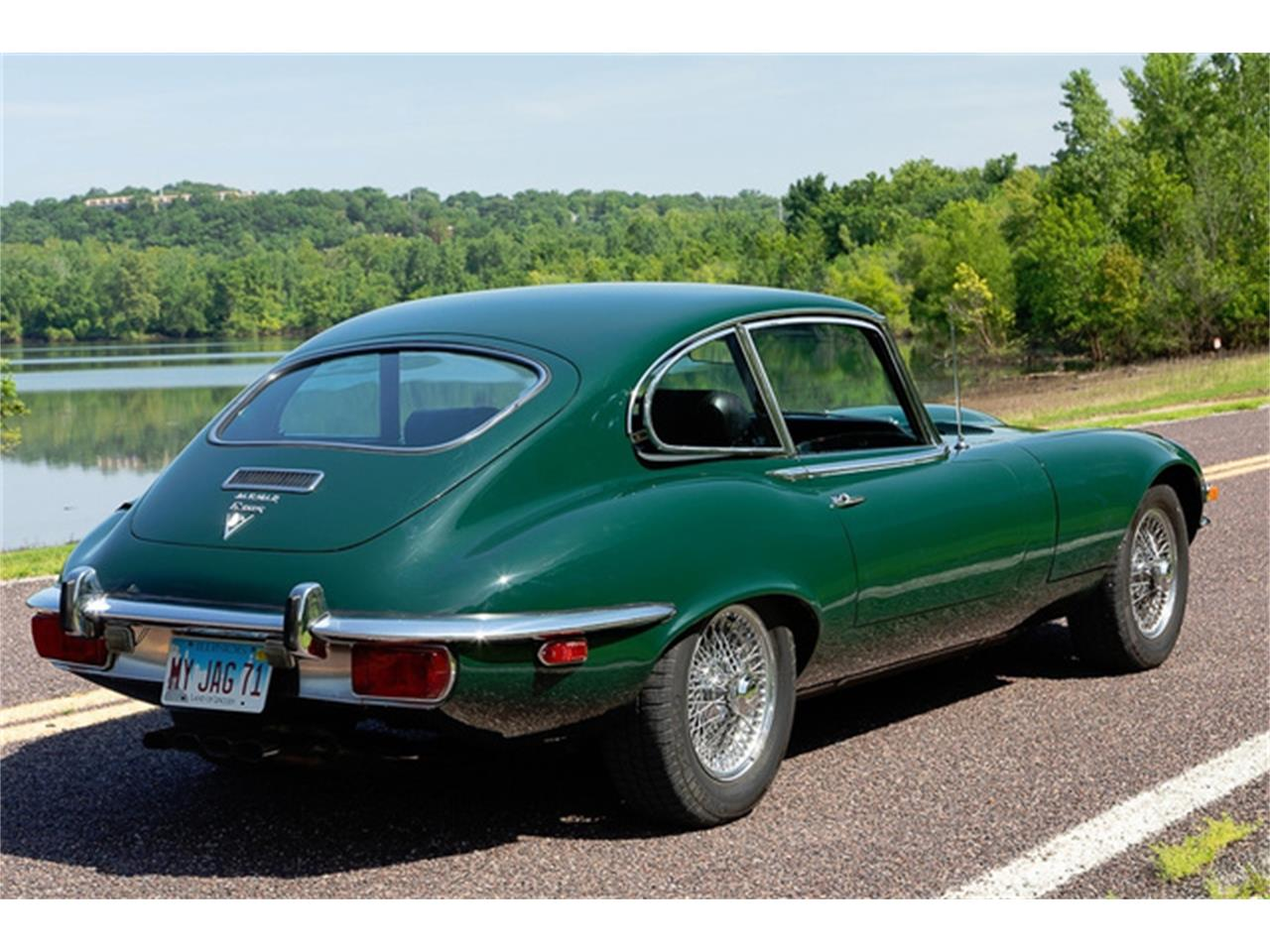 Large Picture of '71 Jaguar XKE Series III located in Missouri - QXN3