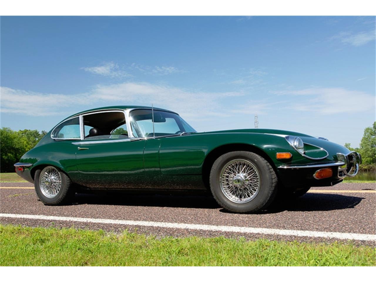 Large Picture of Classic '71 XKE Series III located in St. Louis Missouri Offered by MotoeXotica Classic Cars - QXN3