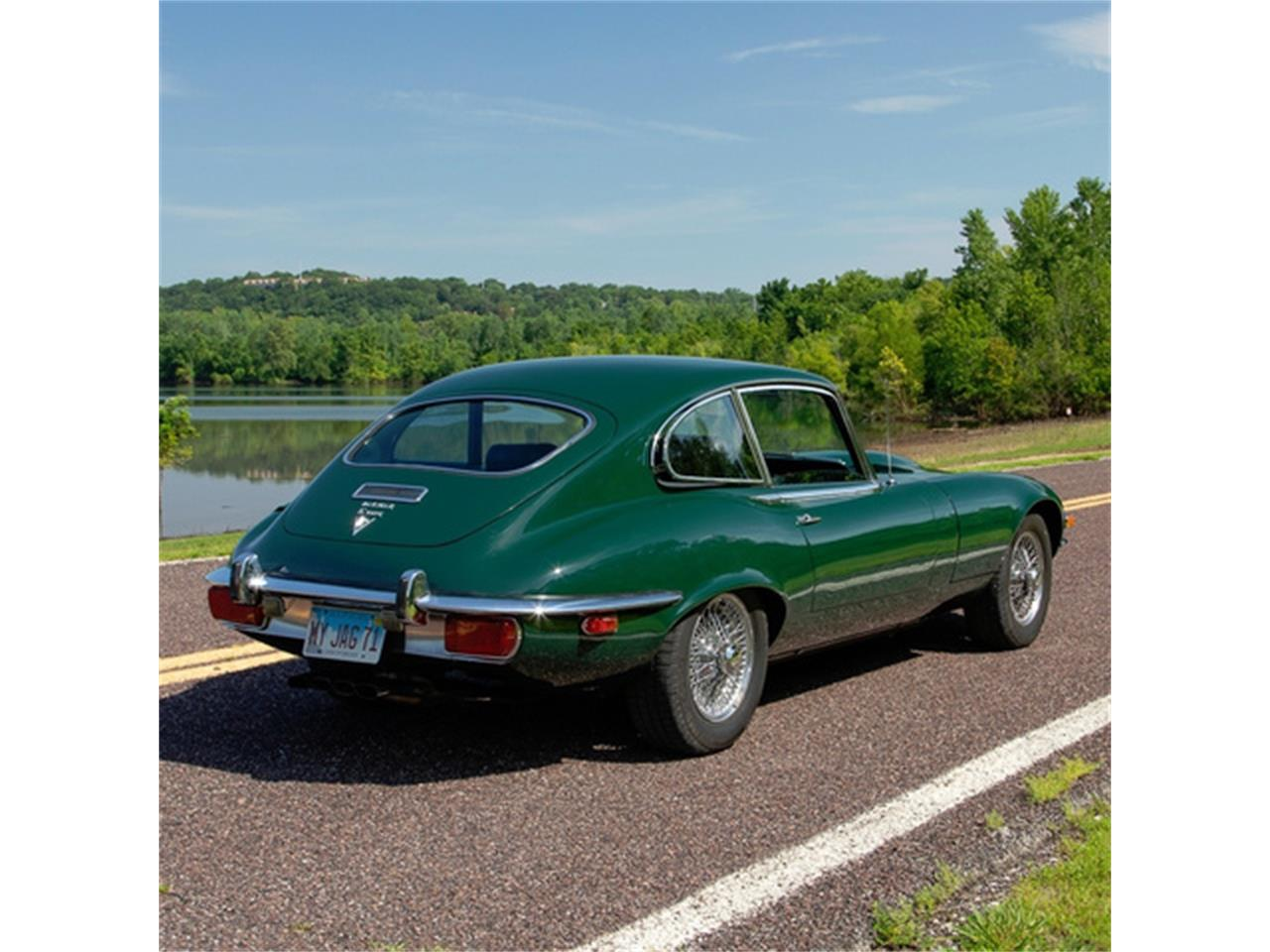 Large Picture of Classic '71 Jaguar XKE Series III located in Missouri - QXN3
