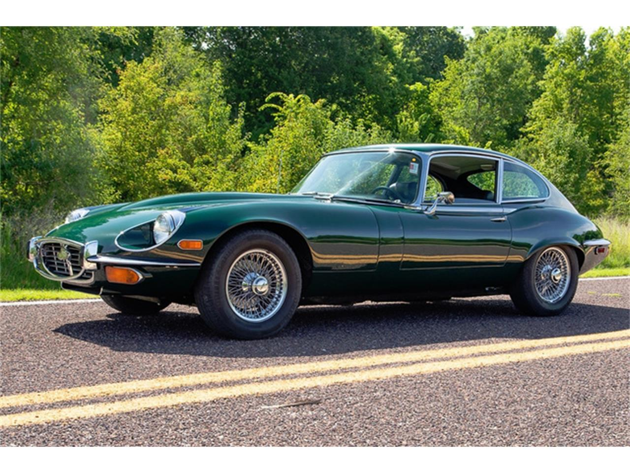 Large Picture of Classic 1971 Jaguar XKE Series III located in Missouri - QXN3