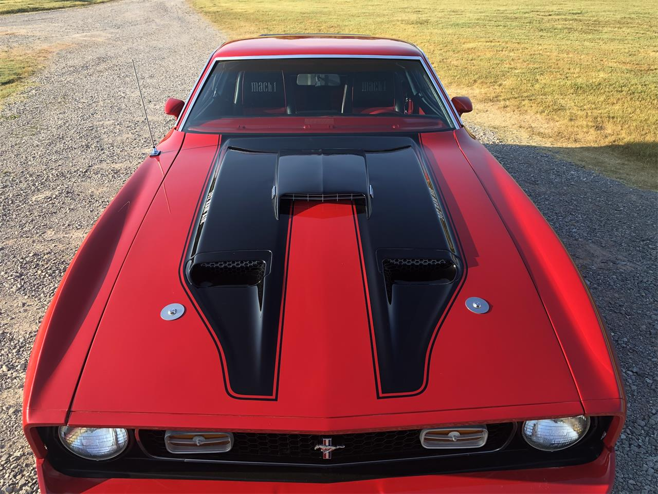 Large Picture of '71 Mustang Mach 1 - QT16