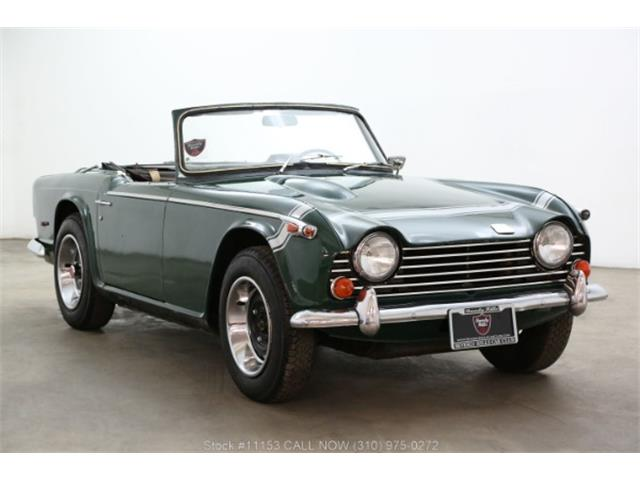 Picture of Classic 1968 Triumph TR250 - QSIF