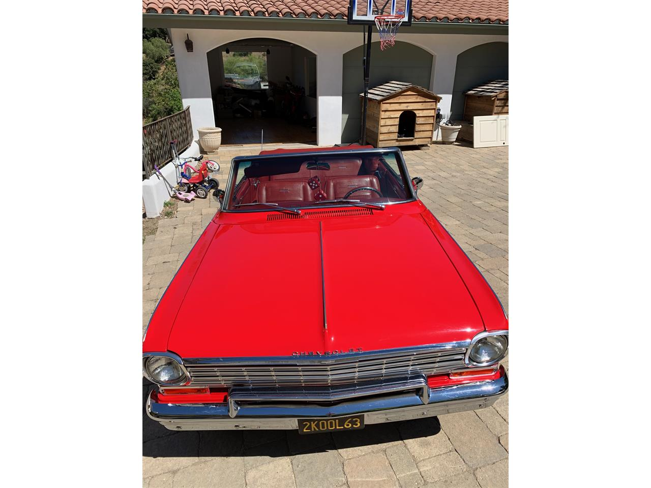 Large Picture of '63 Nova II SS - QXYS