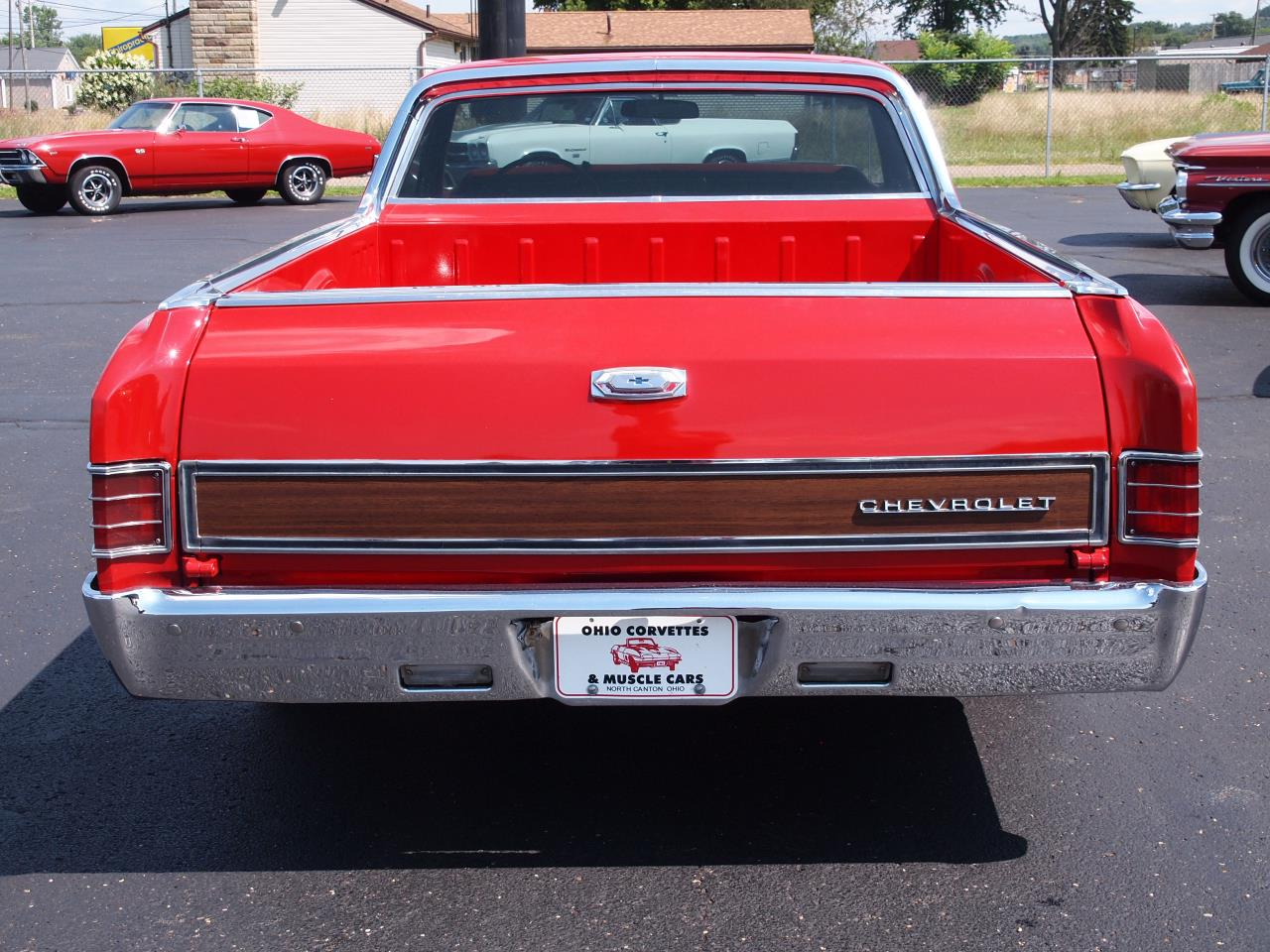 Large Picture of '67 El Camino - QY18