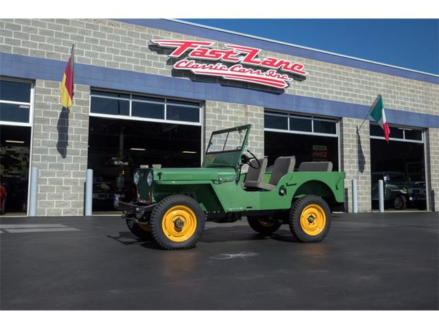 1946 Willys CJ2A