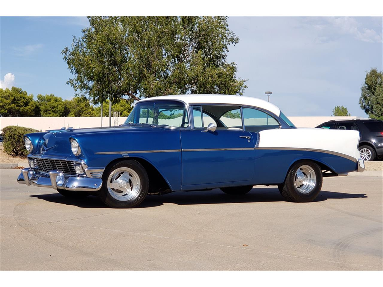 Large Picture of Classic '56 Chevrolet Bel Air Offered by Barrett-Jackson - QY46