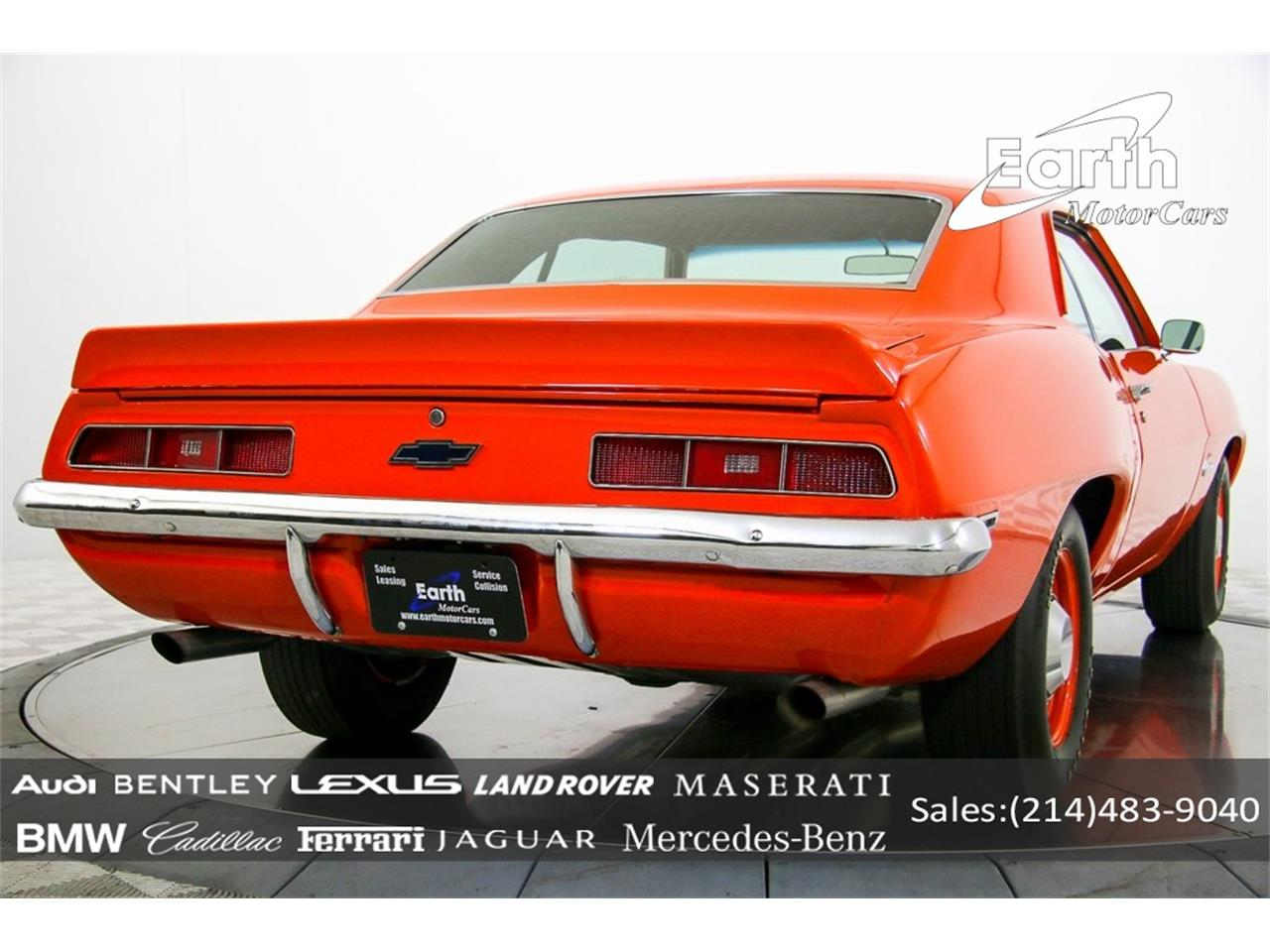Large Picture of Classic '69 Camaro Offered by Earth Motorcars - QYAH