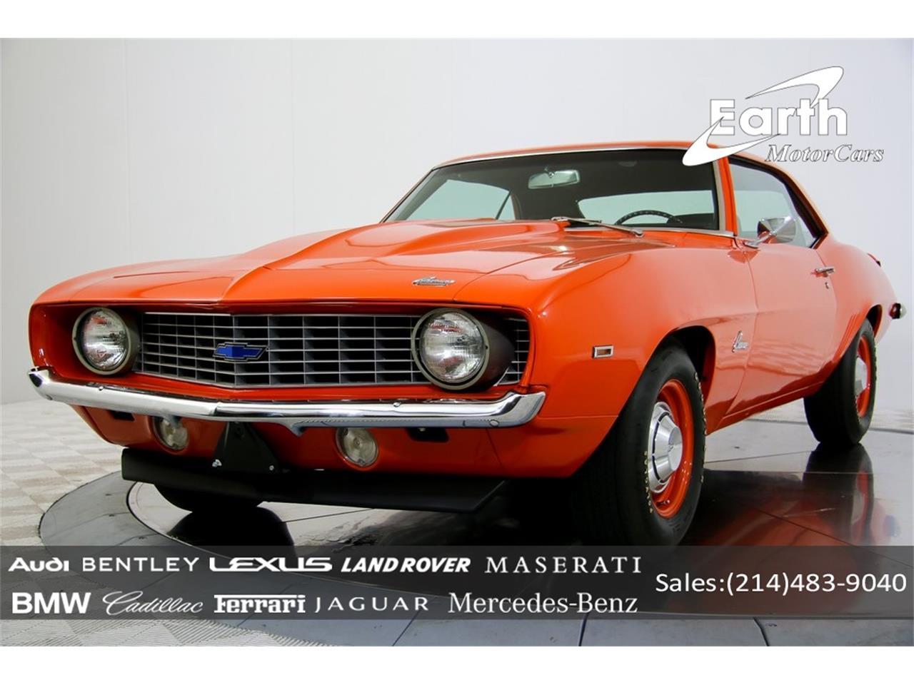 For Sale: 1969 Chevrolet Camaro in Carrollton, Texas