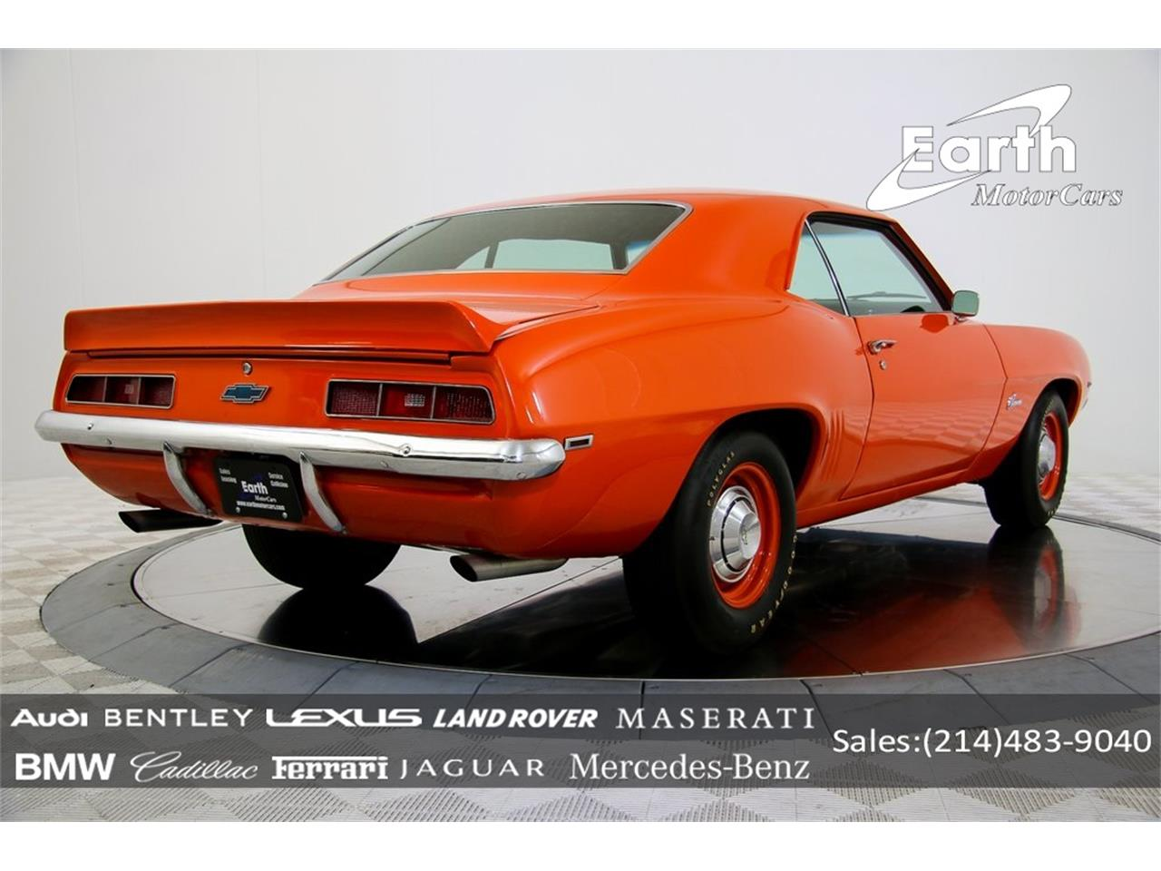 Large Picture of Classic 1969 Chevrolet Camaro - $69,995.00 Offered by Earth Motorcars - QYAH