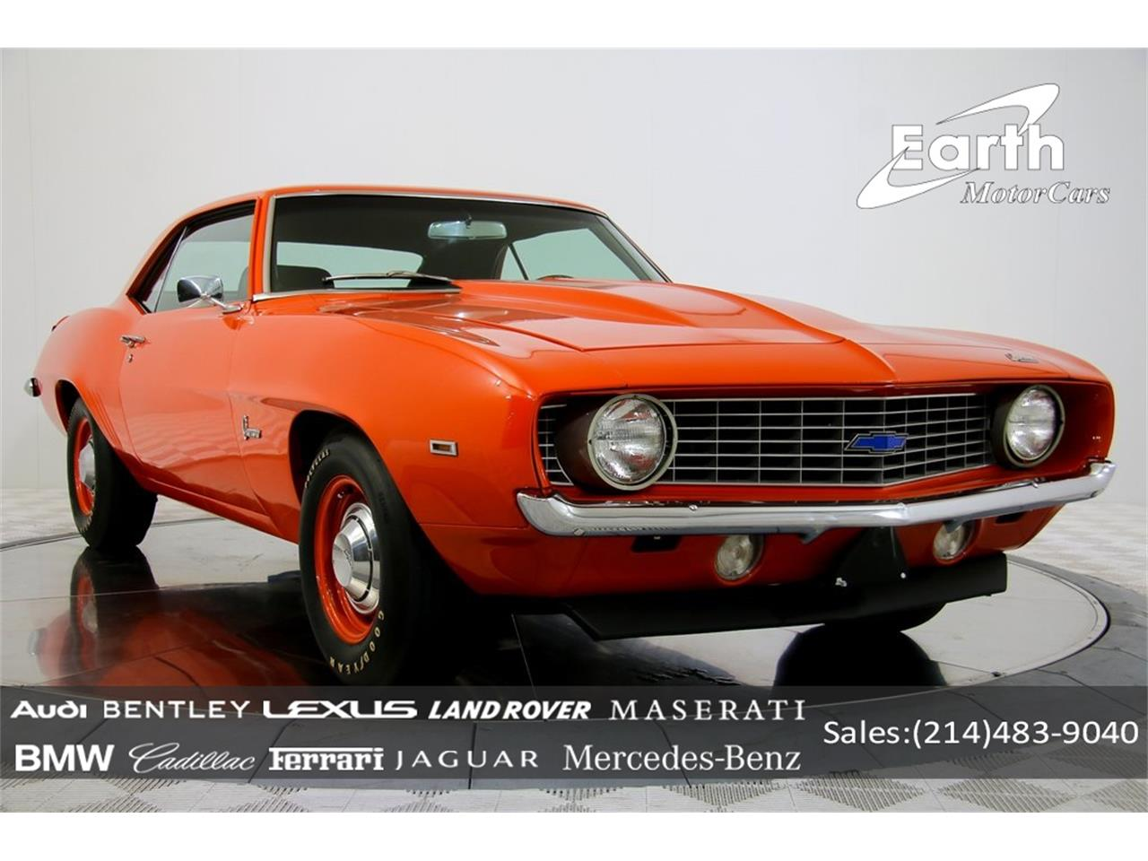 Large Picture of Classic '69 Camaro - $69,995.00 Offered by Earth Motorcars - QYAH