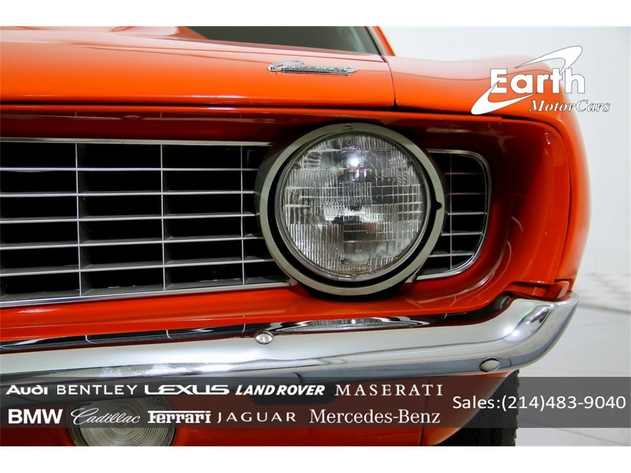 Large Picture of 1969 Chevrolet Camaro located in Texas - $69,995.00 Offered by Earth Motorcars - QYAH