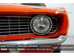 Picture of '69 Chevrolet Camaro located in Carrollton Texas - $69,995.00 Offered by Earth Motorcars - QYAH