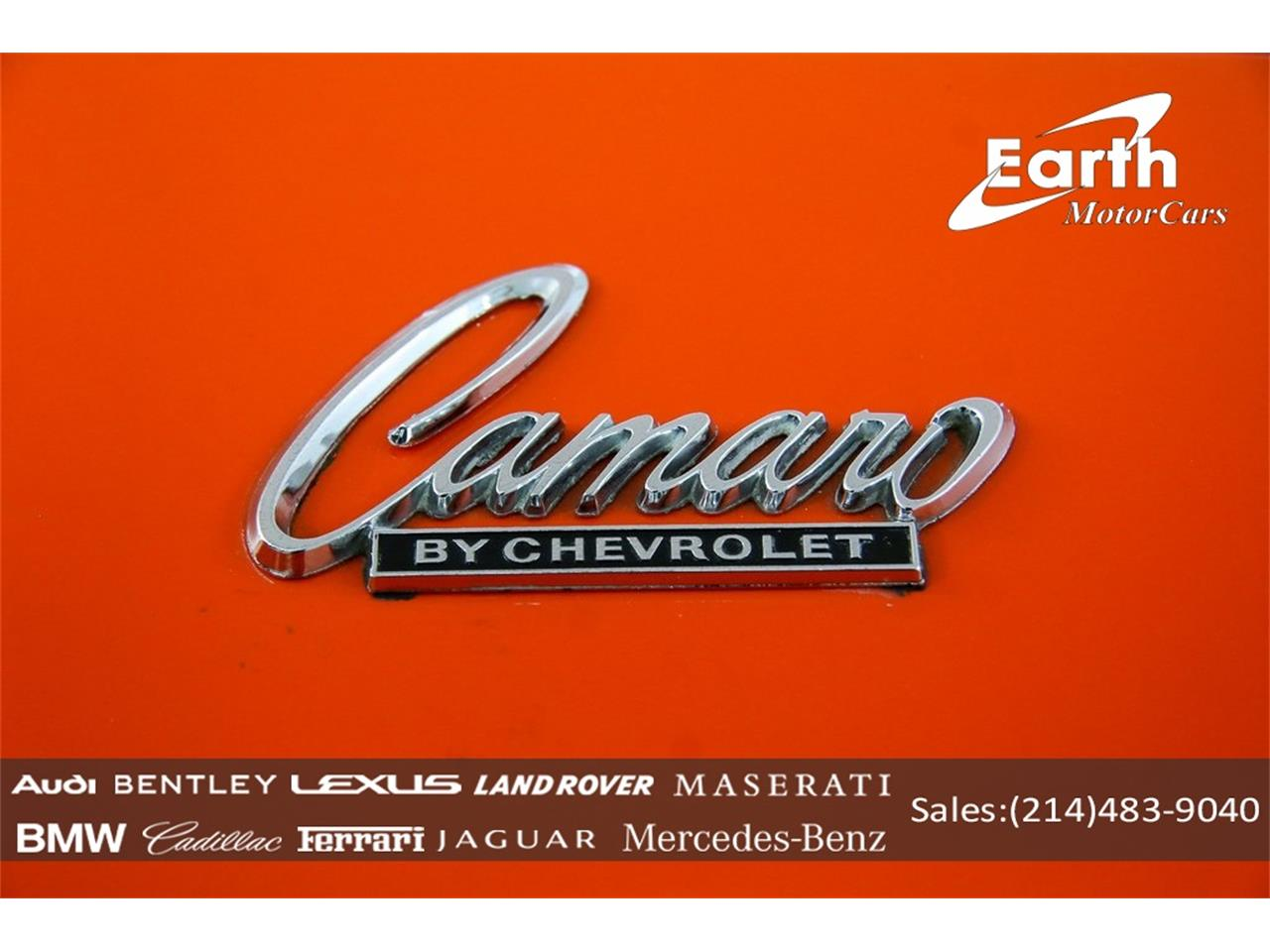 Large Picture of 1969 Camaro located in Carrollton Texas - $69,995.00 Offered by Earth Motorcars - QYAH