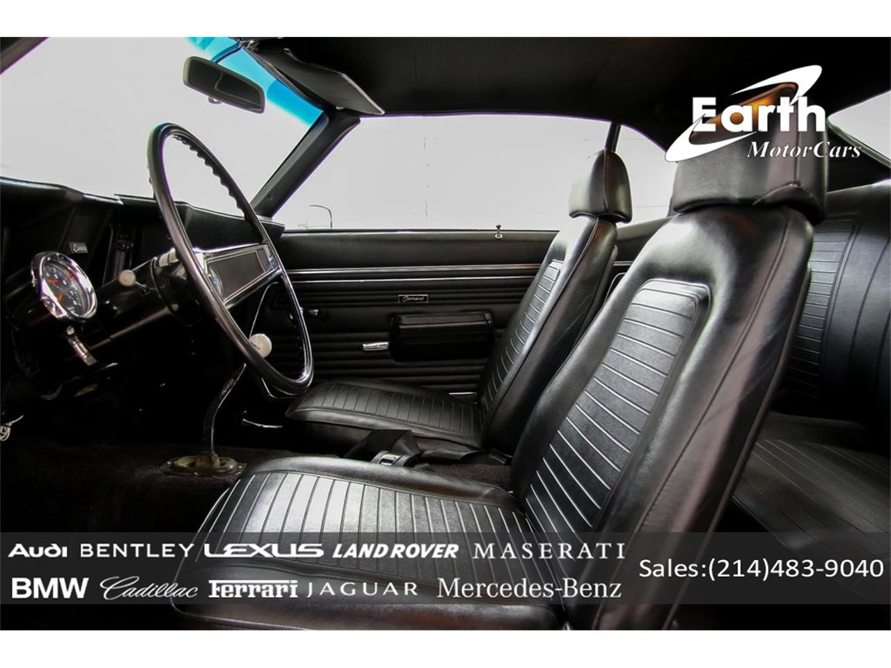 Large Picture of '69 Camaro - $69,995.00 Offered by Earth Motorcars - QYAH